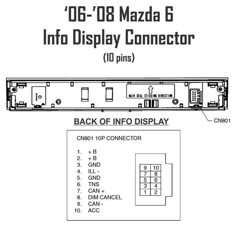 similiar mazda 6 stereo diagram keywords mazda 3 fuse box diagram likewise wiring diagram 2004 mazda 6 radio