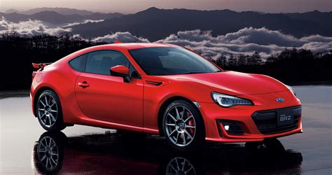 subaru japanese news subaru introduces top spec brz gt for japanese market