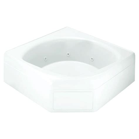 45 ft drop in bathtub sterling ensemble 5 ft right drain bathtub in white