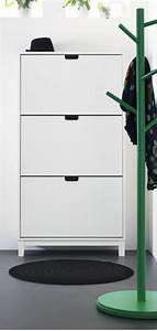 Ikea Schuhschrank Ställ : st ll shoe cabinet with 3 compartments white entry ways cabinets and entryway ~ Pilothousefishingboats.com Haus und Dekorationen