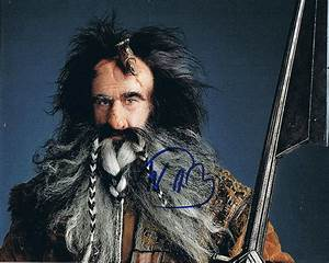 WILLIAM KIRCHER - The Hobbit's Bifur AUTOGRAPH Signed 8x10 ...
