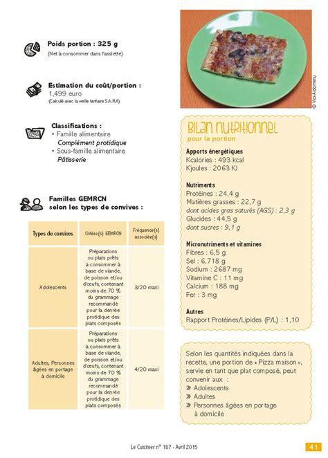 recette cuisine collective recette gemrcn pizza maison vici solutions restauration collective et commerciale