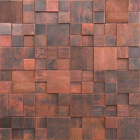 pictures of tile backsplashes in kitchens metal mosaic tile backsplash antique copper tile 3d 9134
