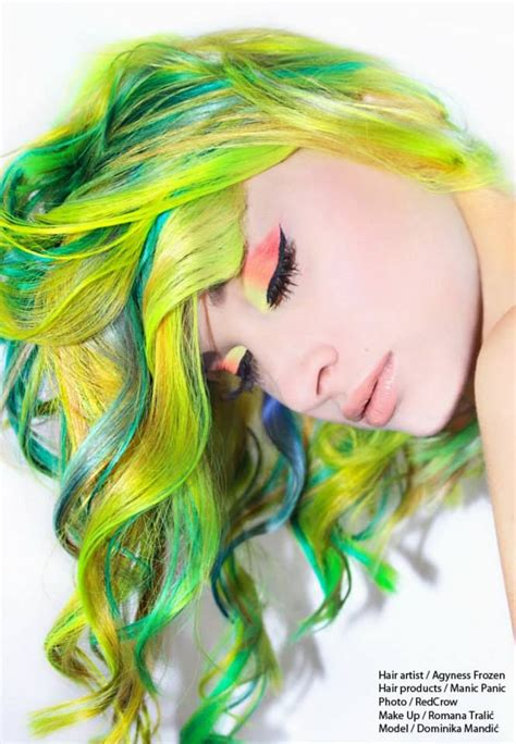 17 Best Images About Extreme Haircolor On Pinterest