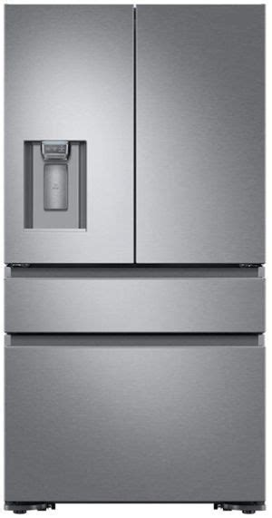 dacor  cu ft silver stainless steel counter depth french door refrigerator drfcsr