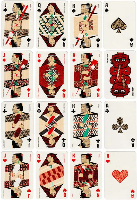maori  world  playing cards