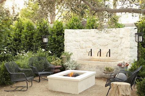 modern outdoor pit modern deck patio