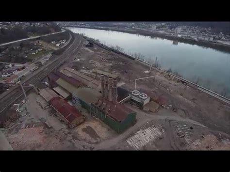 Old Wheeling Pittsburgh Steel blast furnace site Mingo ...