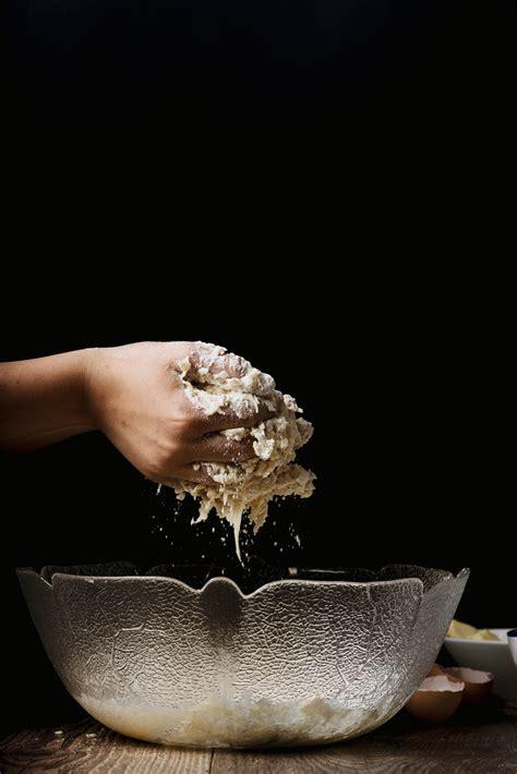 images hand person flower bowl produce dough