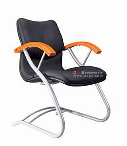 Chaise De Bureau Confortable : chaise en cuir de bureau confortable avec l 39 accoudoir sans roues chaise en cuir de bureau ~ Teatrodelosmanantiales.com Idées de Décoration