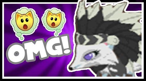 animal jam  black  white headdress youtube