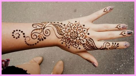 simple mehndi designs  beginners bling sparkle