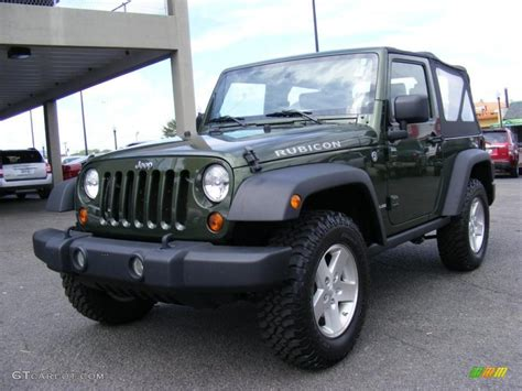 jeep metallic 2009 jeep green metallic jeep wrangler rubicon 4x4
