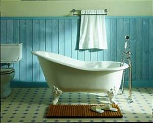Baignoire Avec Pied : baignoire sur pied infos et conseils ooreka ~ Edinachiropracticcenter.com Idées de Décoration