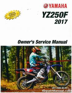 2011 Yamaha Yz250f Service Manual