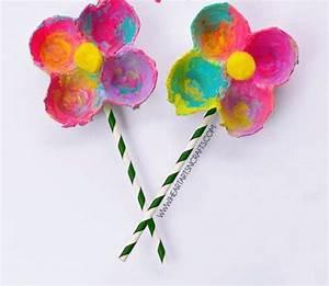 Boite A Oeufs Originale : inspi diy avec des bo te oeufs fleur en oeuf carton pinterest boite a oeuf bricolage ~ Nature-et-papiers.com Idées de Décoration