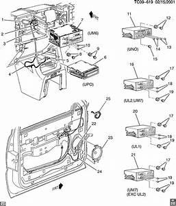 Chevrolet Silverado Audio System  Front