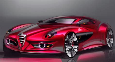 Another Alfa Romeo Design Study For A Sports Coupe