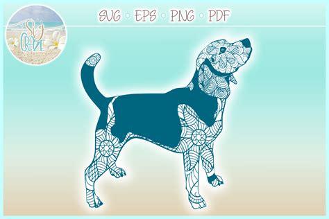 Introducing the mini mandala arrows bundle. Beagle Mandala Zentangle Bundle SVG Eps Png PDF