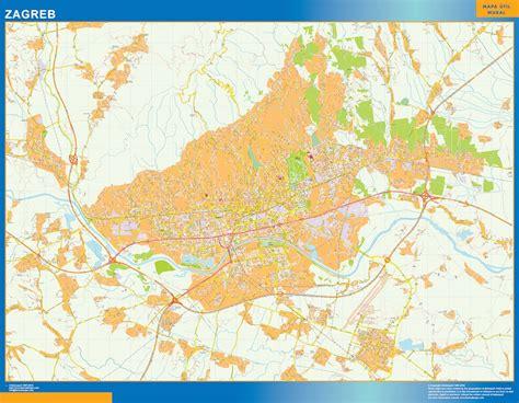 Acheter Carte Du Monde Geante by Carte Geante Zagreb Acheter Cartes G 233 Antes Les Plus