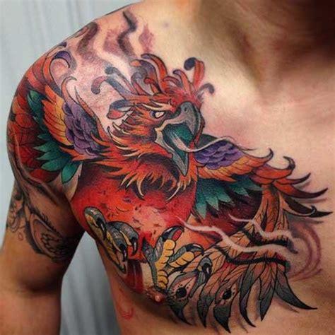 amazing phoenix tattoo design pictures