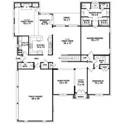 5 bedroom house plans 1 story 653935 two story 5 bedroom 4 5 bath country style house plan house plans floor