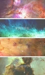 galaxy | Tumblr | Inspirational quotes | Pinterest | Posts ...