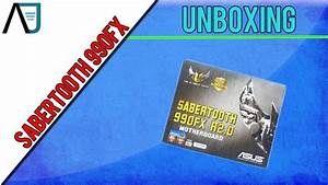 Unboxing  Asus Sabertooth 990fx R2 Motherboard