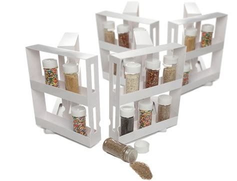 Swivel Store Spice Rack by Swivel Spice Rack Storage System For 3 49 Each Shelf