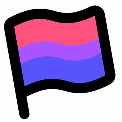 Pride Icon Flag Bisexual Biromantic Icons Pansexual