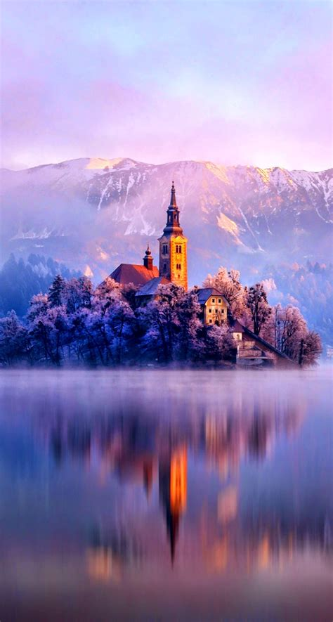 winter iphone hd lake plus monastery fortress nature wallpapers iphonewalls