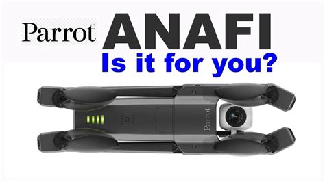 parrot anafi  drone   youtube