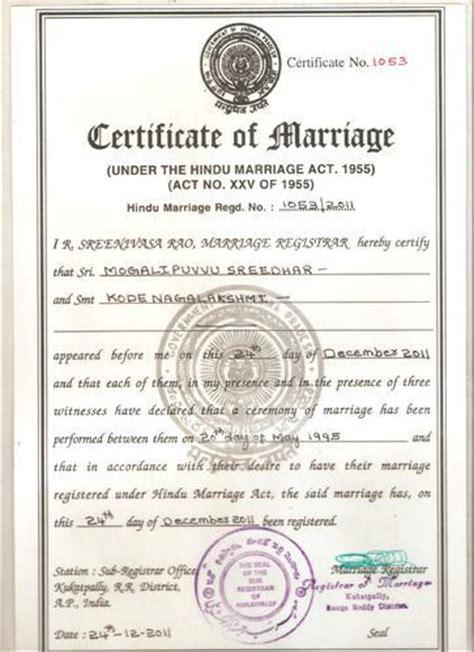 marriage certificate form  delhi choice image