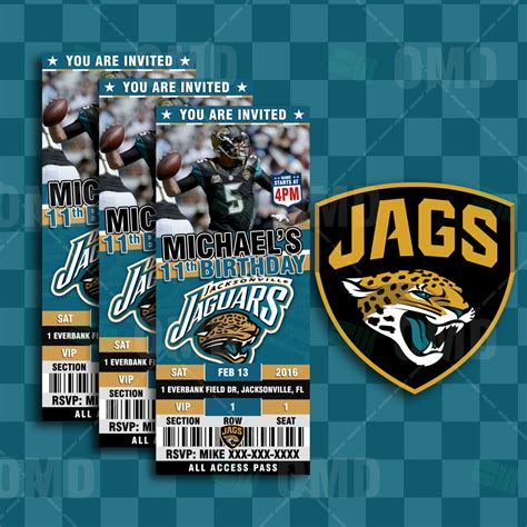 2 5 215 6 jacksonville jaguars football ticket style sports