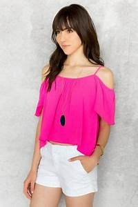 We are loving the off the shoulder look for spring The
