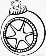 Ornament coloring page...