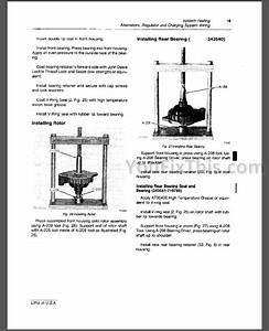 John Deere 450d 455d Repair Manual  Crawler Bulldozer