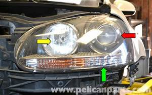 Volkswagen Golf Gti Mk V Headlight Bulb And Assembly