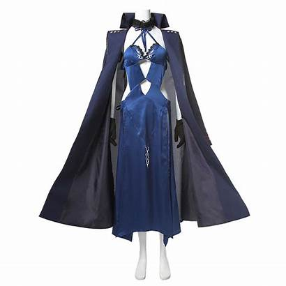 Pendragon Artoria Fate Cosplay Stay Costume Night