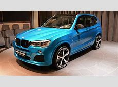 2015 BMW X3 in Abu Dhabi Is a Mixture of Tuning Styles