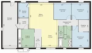 plan maison moderne gratuit