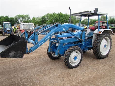 Ford 4610 4x4 Tractor With Loader Ser No Bb05642