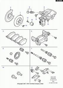Rear Brake System Diagram