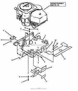 Snapper Z2205kv  80920  22 Hp Hydrogear Drive Ztr Series 5 Parts Diagram For Motor Mount