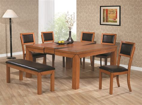 9 pc counter height dining room set table 8 stools in