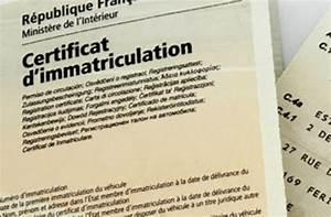 Plaque Immatriculation Etrangere : l acheminement d un certificat d immatriculation ~ Medecine-chirurgie-esthetiques.com Avis de Voitures