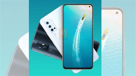 vivo  india variant  feature hole punch display
