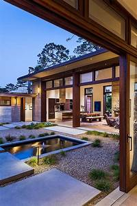 41, Best, Atriums, U0026, Courtyards, For, Modern, Homes, Images, On