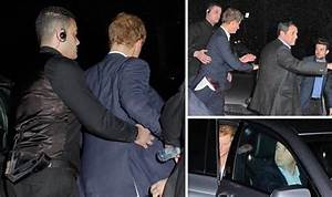 Party prince Harry leaves Raffles escorted by doorman ...