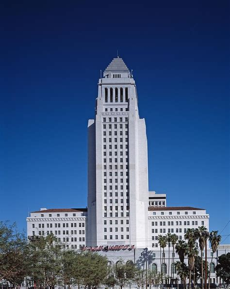 Los Angeles City Hall Photograph By Mountain Dreams
